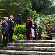 Věnec Jihočeského KV KSČM byl právě položen k hrobce pana prezidenta