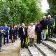 Delegace komunistů byly snad jedinými zástupci politického spektra ČR (delegace Jč KV KSČM a OV KSČM Tábor)