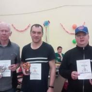 Trojice úspěšných. Z leva: Vaclav Kadoun, Petr Chmel, Marian Lichtenberg.